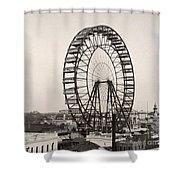 Ferris Wheel, 1893 Shower Curtain