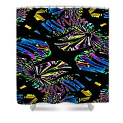 Ferris Wheel 3 Shower Curtain