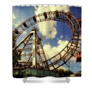 Ferris Wheel At The Prater Shower Curtain