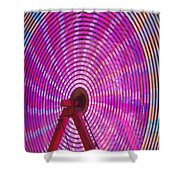 Ferris Wheel I Shower Curtain