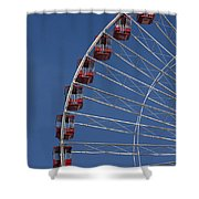 Ferris Wheel II Shower Curtain