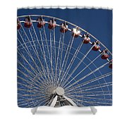 Ferris Wheel IIi Shower Curtain