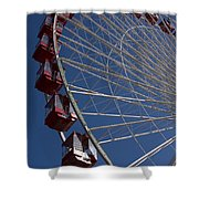Ferris Wheel Iv Shower Curtain