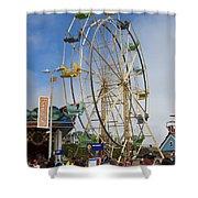Ferris Wheel Santa Cruz Boardwalk Shower Curtain