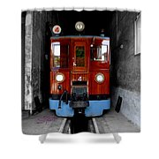Ferrocarrril De Soller Shower Curtain