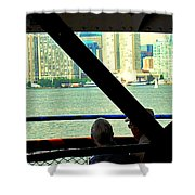 Ferry Across The Harbor Shower Curtain