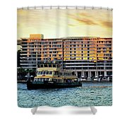 Ferry And The Toaster Shower Curtain