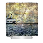 Ferry Boat Shower Curtain