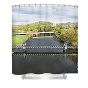 Ferry Bridge Burton On Trent Shower Curtain