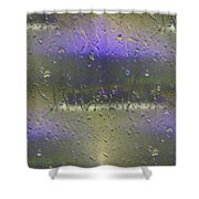 Ferry In The Fog Shower Curtain