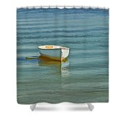 Ferry Landing Dinghy Shower Curtain