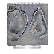 Ferry Oysters Shower Curtain