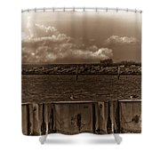 Ferry's End Shower Curtain