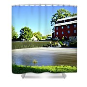 Fertile Dam Shower Curtain