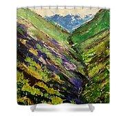 Fertile Valley Shower Curtain