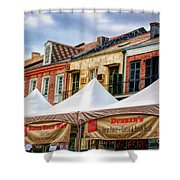 Festival New Orleans Seafood - French Quarter Shower Curtain