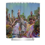 Festival Of Color Shower Curtain