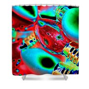 Festive Lights Of Christmas Shower Curtain