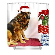 Festive Oskar Shower Curtain