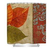 Feuilles II Shower Curtain