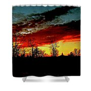 Fever Pitch Shower Curtain