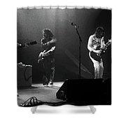 Fhat#68 Enhanced Bw Shower Curtain