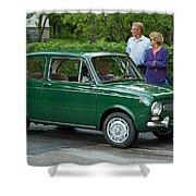 Fiat 850 Special Shower Curtain
