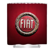 Fiat Emblem -1621c Shower Curtain