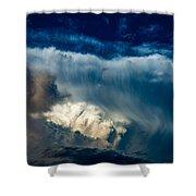 Fibrous Anvil Shower Curtain