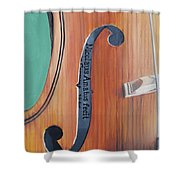 Fiddle I Shower Curtain