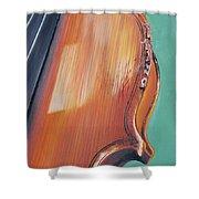 Fiddle II Shower Curtain