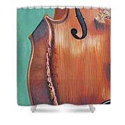 Fiddle IIi Shower Curtain