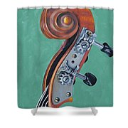 Fiddle Iv Shower Curtain