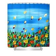 Field Shower Curtain