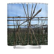 Field In Fornes Shower Curtain