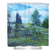 Field In The Langeberg Western Cape South Africa 2016 Shower Curtain