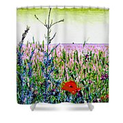 Field Notes Shower Curtain