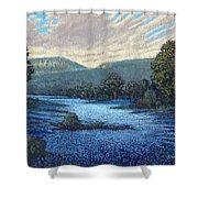 Field Of Bluebonnets Shower Curtain