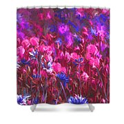 Field Of Dreams Abstract Shower Curtain