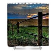 Field Of Dreams II Shower Curtain
