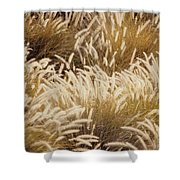 Field Of Feathers Shower Curtain