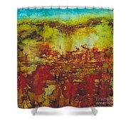 Field Of Flowers Under The Dew Shower Curtain