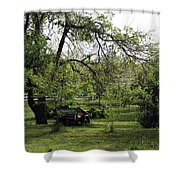 Field Of Green Shower Curtain