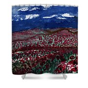 Field Of Hell Shower Curtain