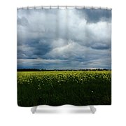 Field Of Weeds Shower Curtain