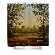 Fields And Trees Shower Curtain