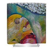 Fields Of Cotton Shower Curtain
