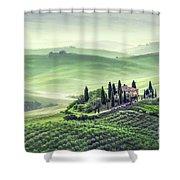Fields Of Eternal Harmony Shower Curtain