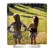 Fields Of Freedom Shower Curtain