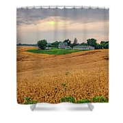 Fields Of Gold, Illinois Shower Curtain